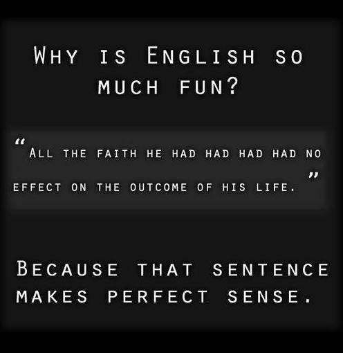 Grammarly, English, sentence