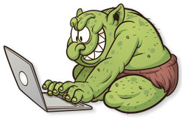 Internet Troll, Grammarly, online, writing, communication