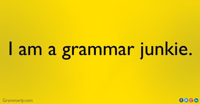 grammar, nerd