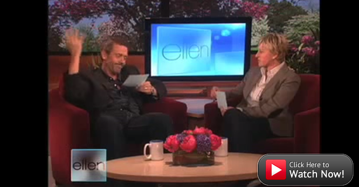 Ellen and Hugh Laurie Compare British and American Slang