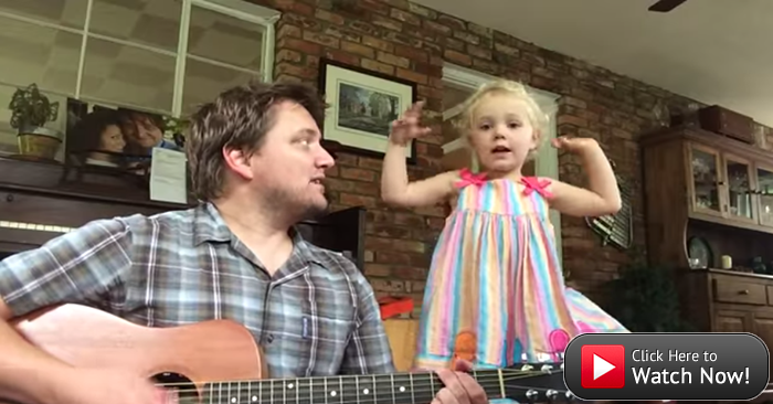 Daddy-daughter duo rock out to