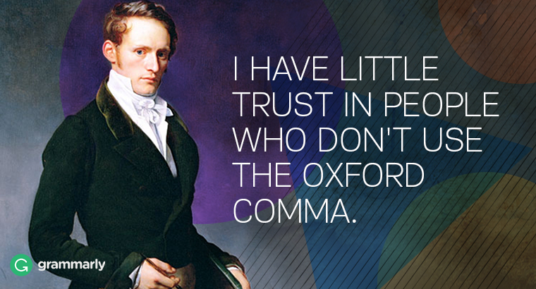 What Is the Oxford Comma and Why Do People Care So Much About It? Image