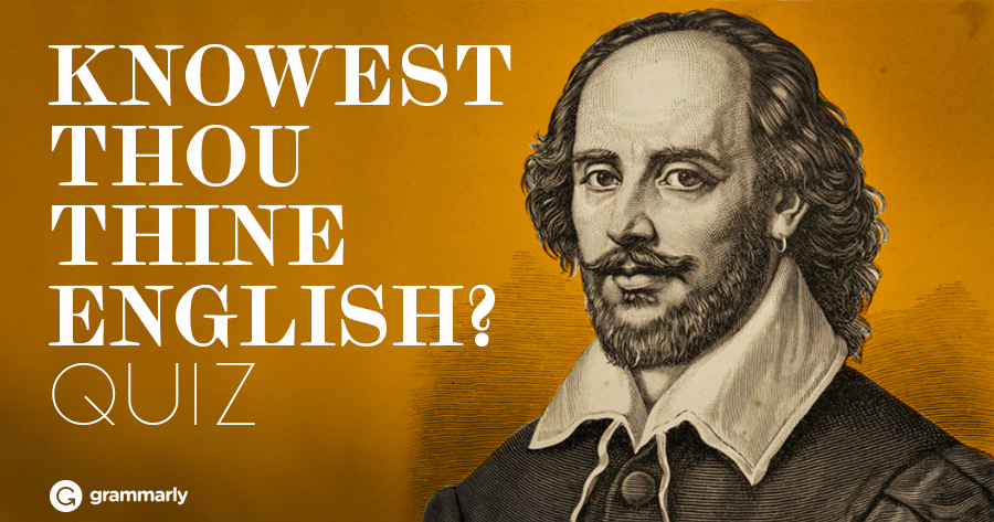 how to write in shakespearean english Thou, thee, thy, thine & ye: shakespearean english posted on july 1, 2009 july 1, 2009 by centrelli almost everyone reads at least one work of shakespeare in his or.