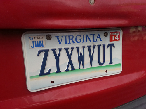 License Plate, Grammarly, car games, road trip