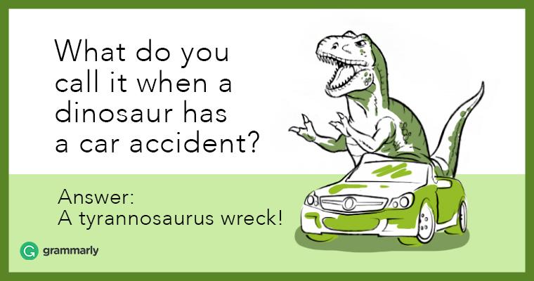 A-tyrannosaurus-wreck!