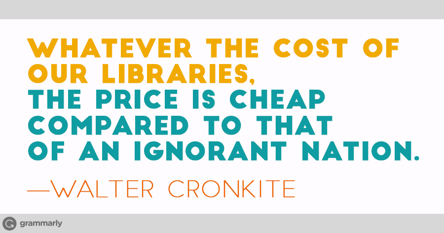 10 Reasons Libraries Are Amazing