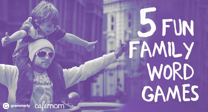 5 Fun Family Word Games
