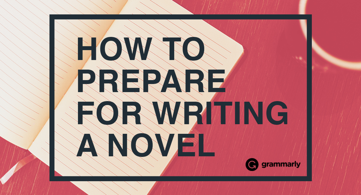 How to prepare for writing a novel cover