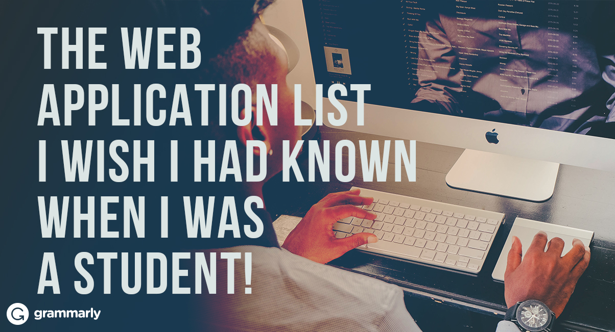 The web application list I wish I had known when I was a student!