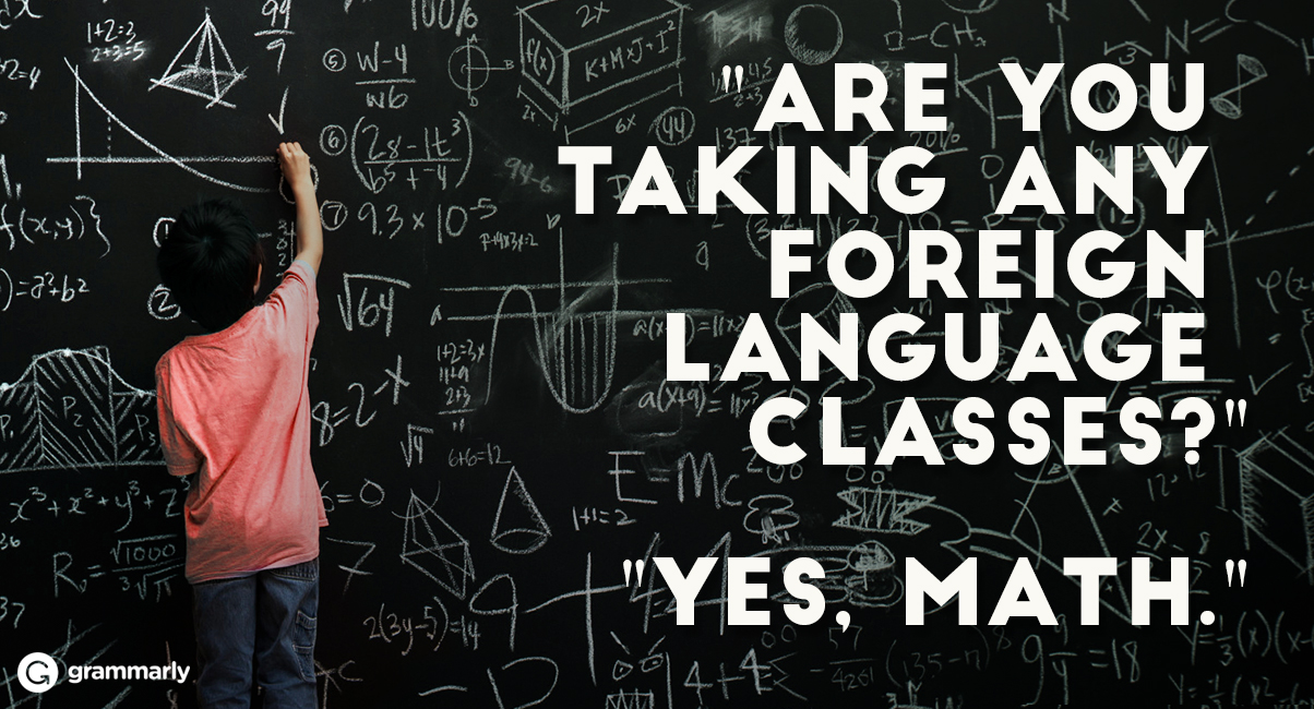 Why Being Good at Language Arts Means That You Can Do Math