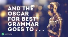 And the Oscar for Best Grammar Goes to. . .