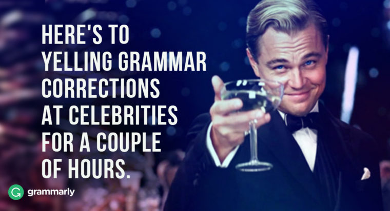 Grammatical Errors from Academy Awards Past