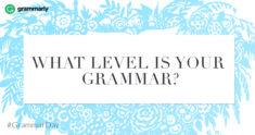Grammar Skills Test: Starter