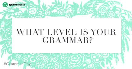 Grammar Skills Test: Master
