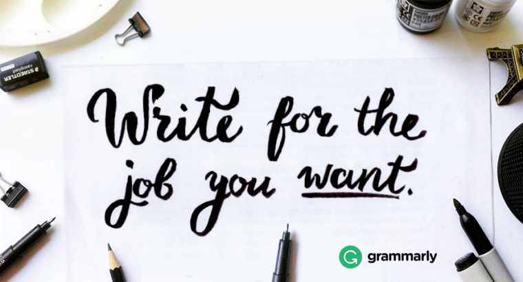 Write for the Job You Want: Good Grammar and Promotions