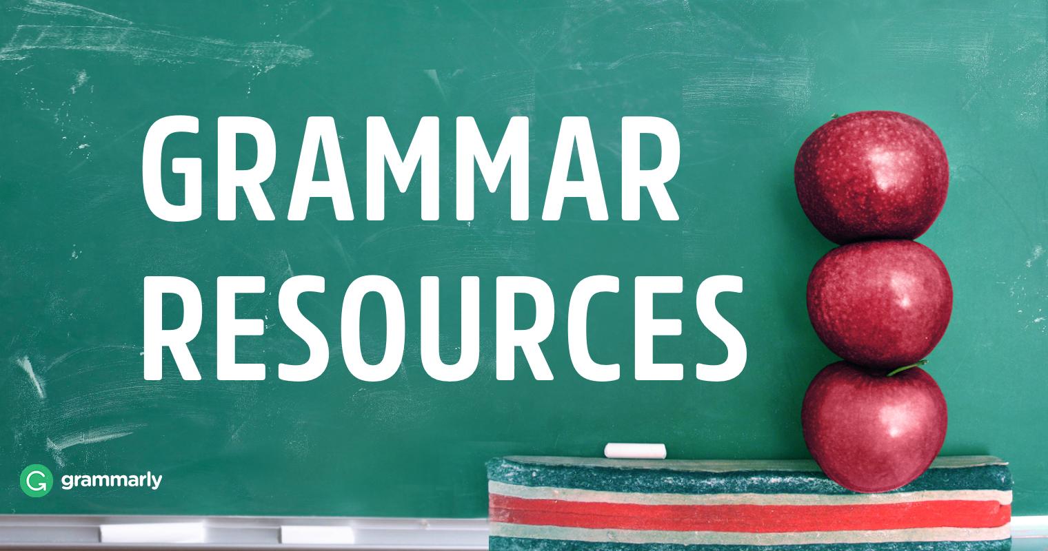 9 Best Grammar Resources for Teachers | Grammarly