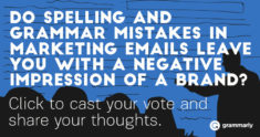 How do email mistakes affect your impression of brands?