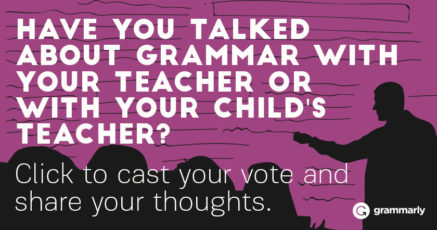 Have you discussed grammar with educators?