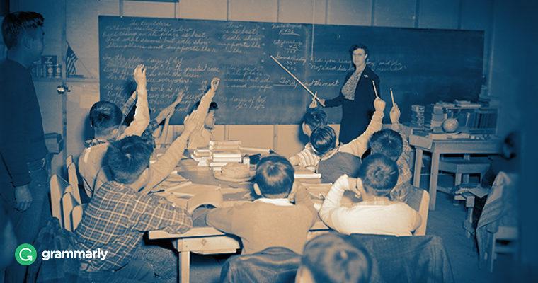 Educating Educators: Basic Grammar for Teachers