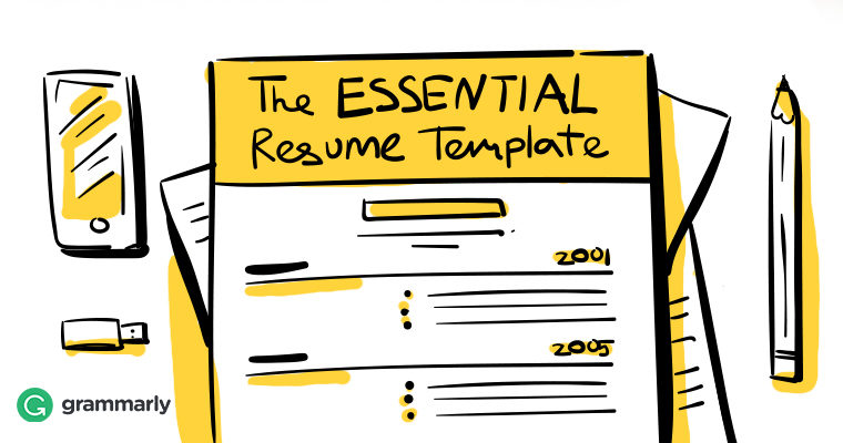 The Essential Résumé Template: What to Include in a Résumé