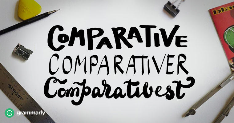 Make Your Comparatives More Correcter