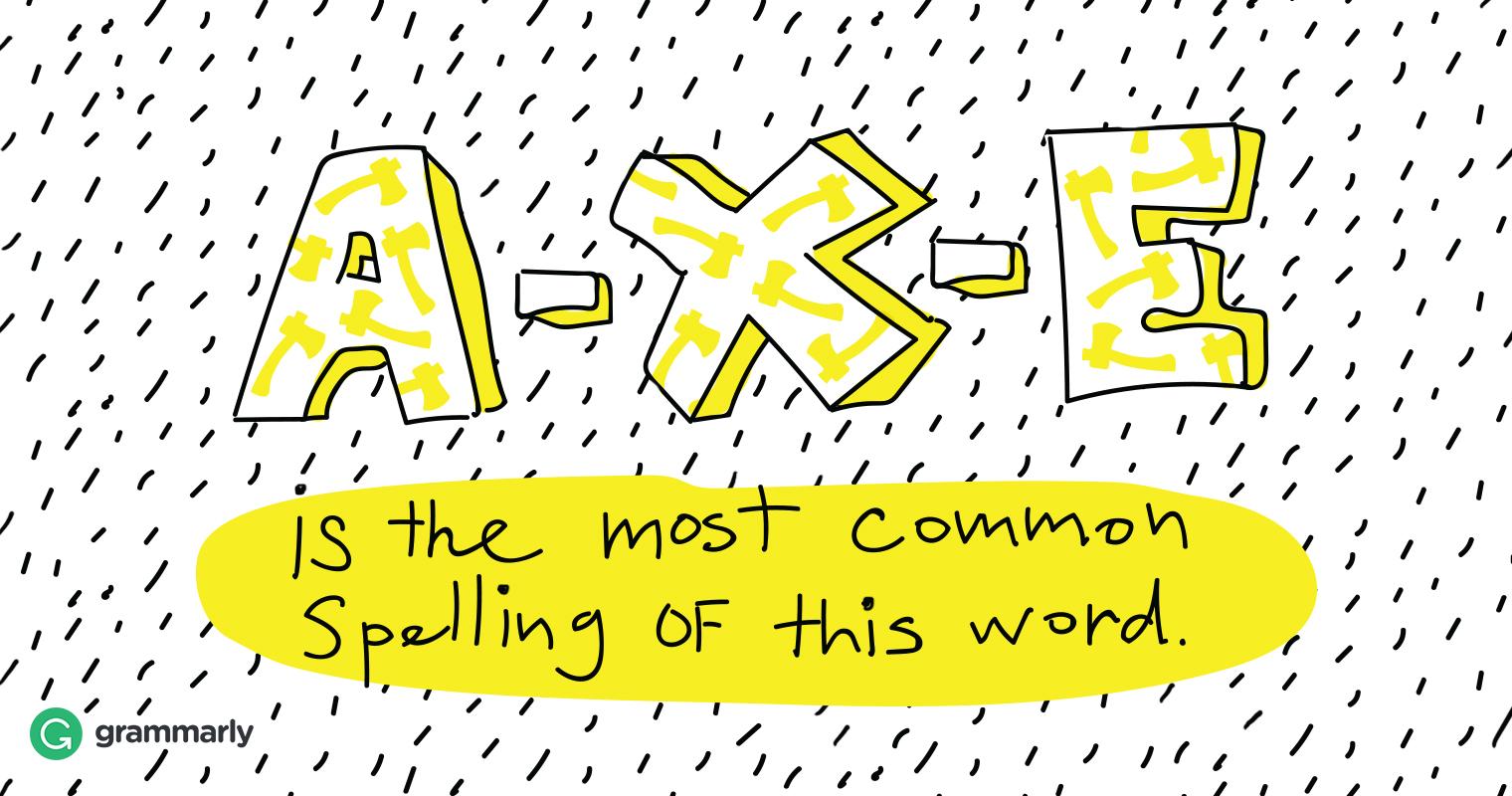 Ax vs. Axe image