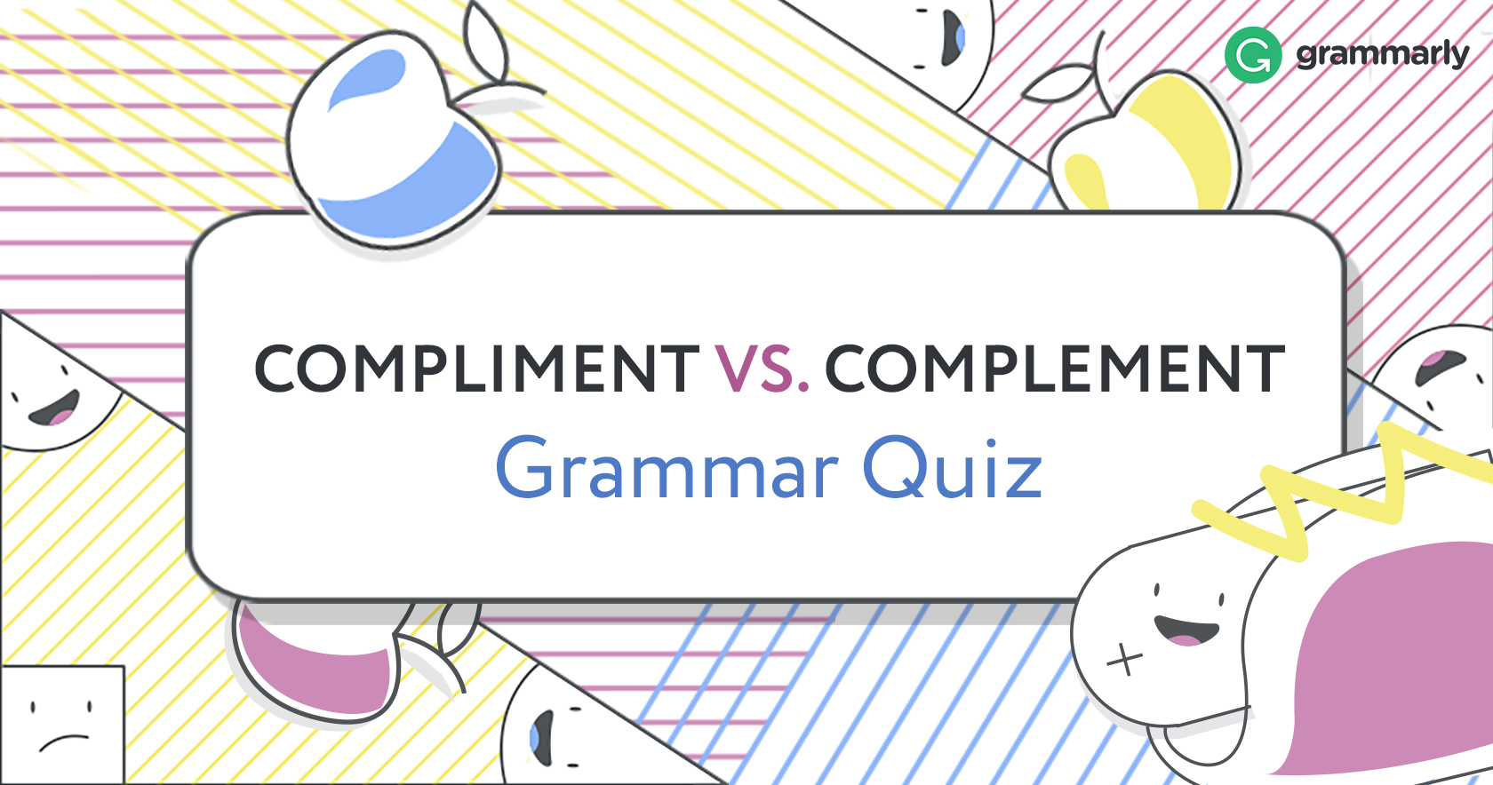 Complement or Compliment Quiz Header Image