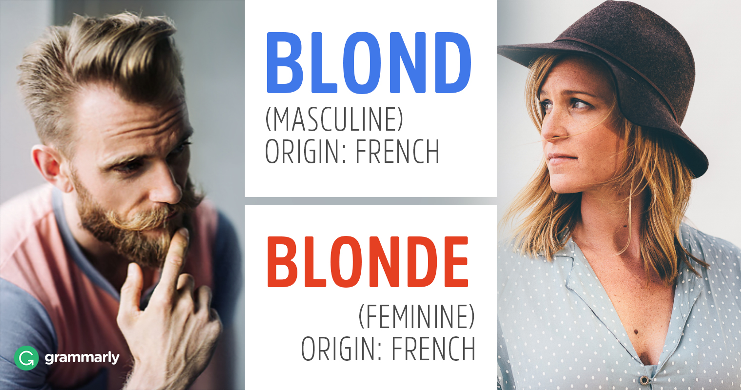 Blond Or Blonde Grammarly Blog