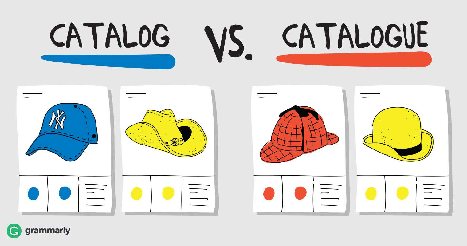 Catalog or Catalogue—Which Should You Use? | Grammarly