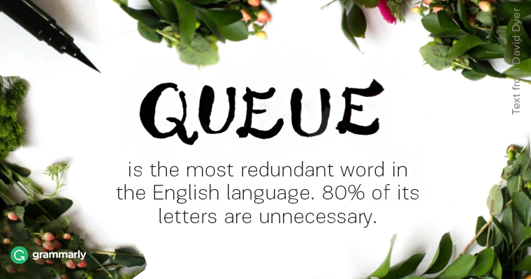 Cue vs. Queue Image
