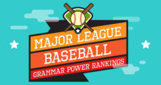 Baseball Fans Come Out Swinging in 2016 MLB Grammar Power Rankings