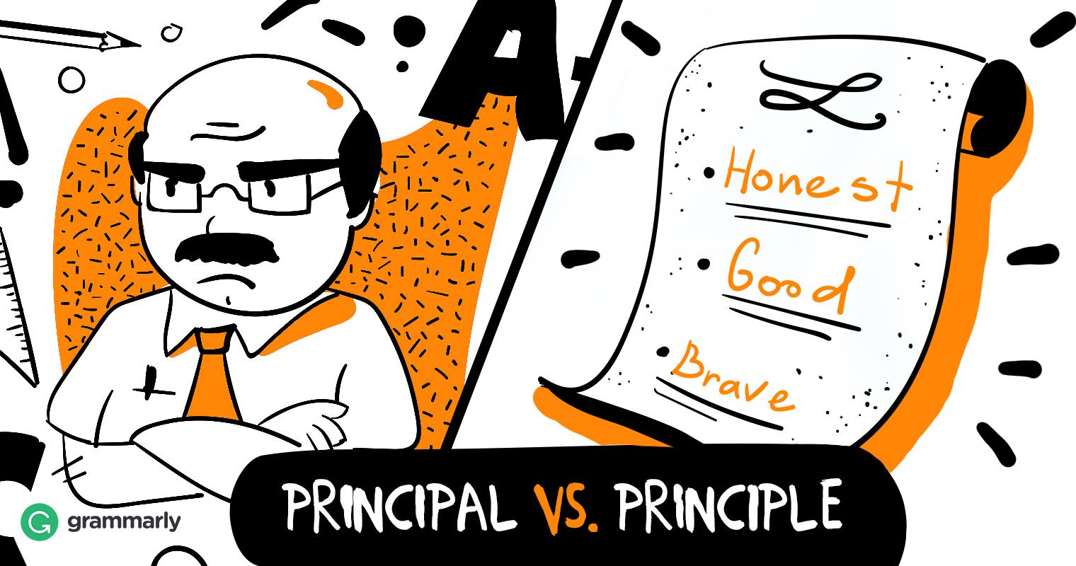 Principle vs. Principal image