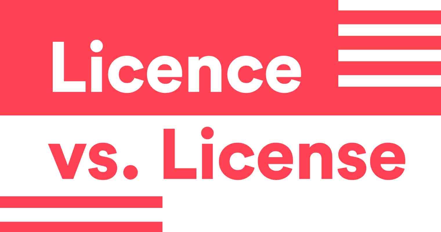 Licence vs  License | Grammarly