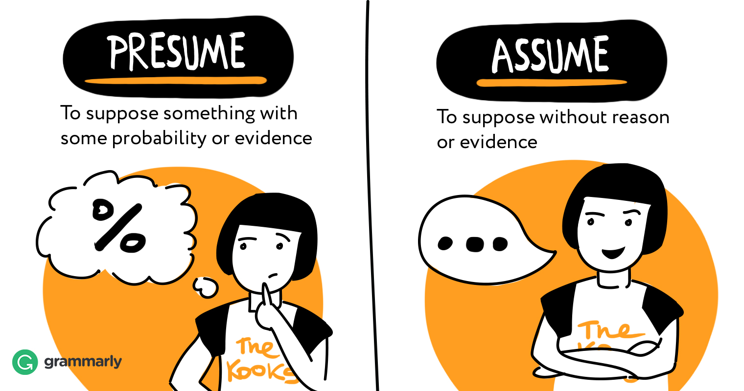 Presume vs. Assume   Grammarly Blog