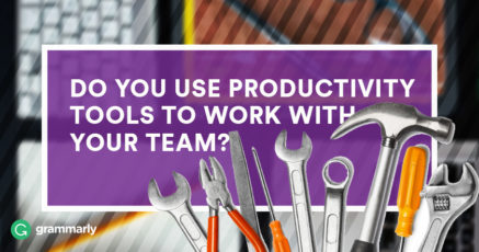 Do You Use Productivity Tools to Work With Your Team?