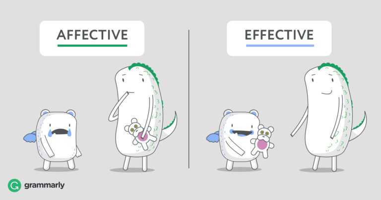 Affective vs  Effective–Don't Confuse Them | Grammarly