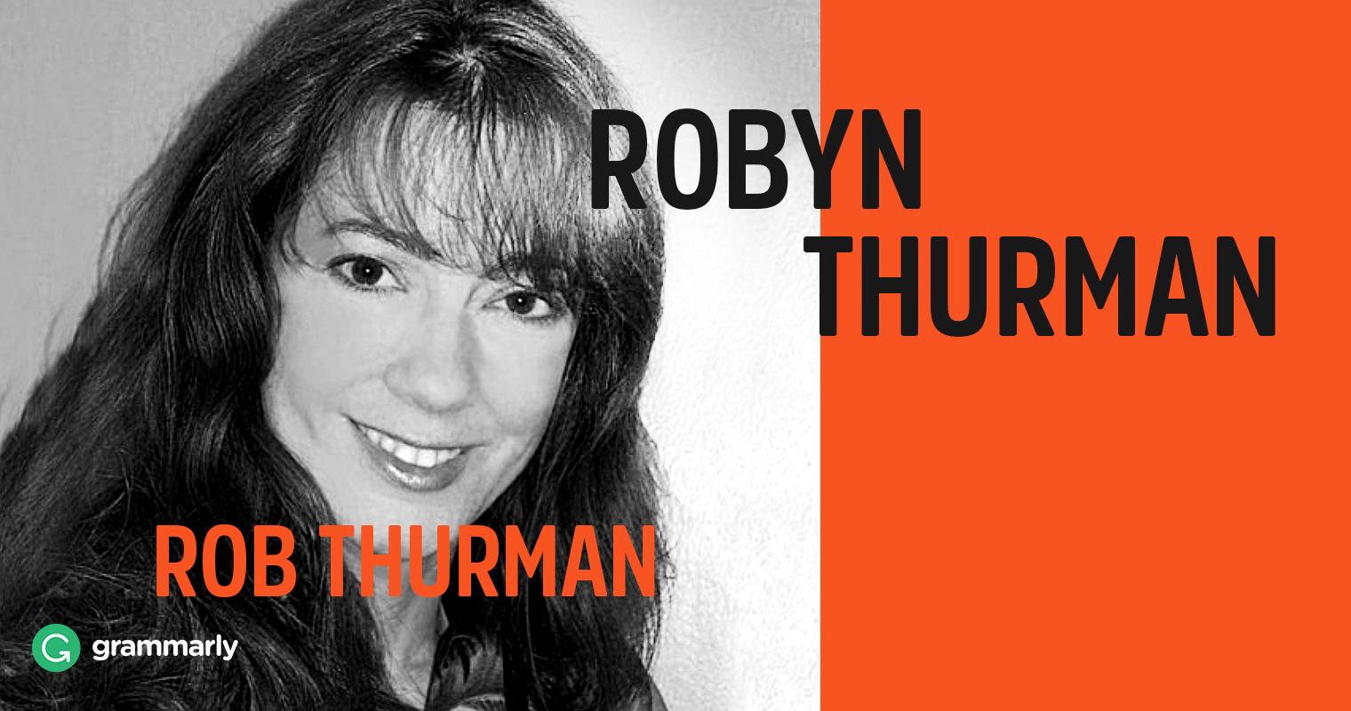 Robyn Thurman and Rob Thurman