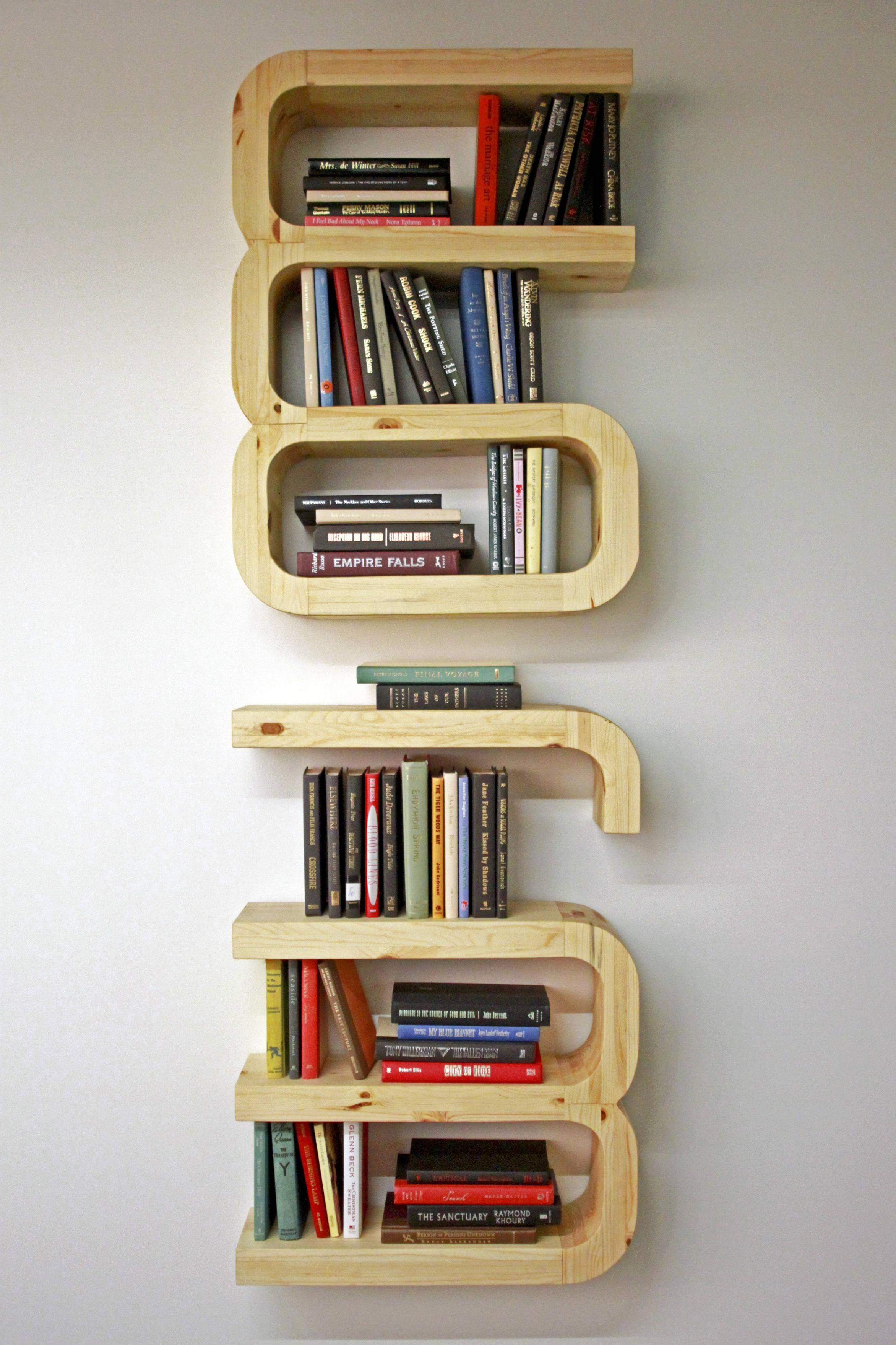 Bookshelf spells the word WORM.