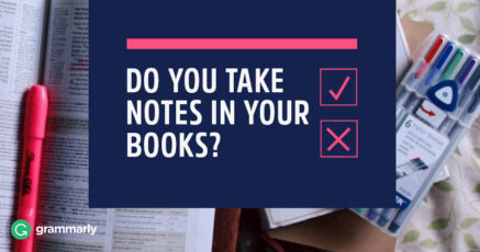Do You Take Notes In Your Books?