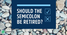 Should the Semicolon be Retired?