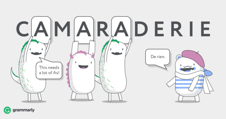 What Is Comradery? | Grammarly Blog