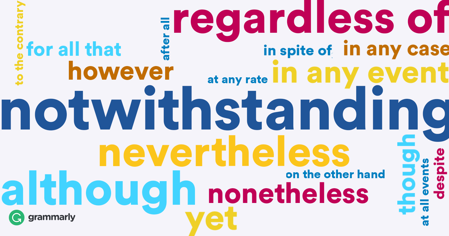 Notwithstanding Definition image