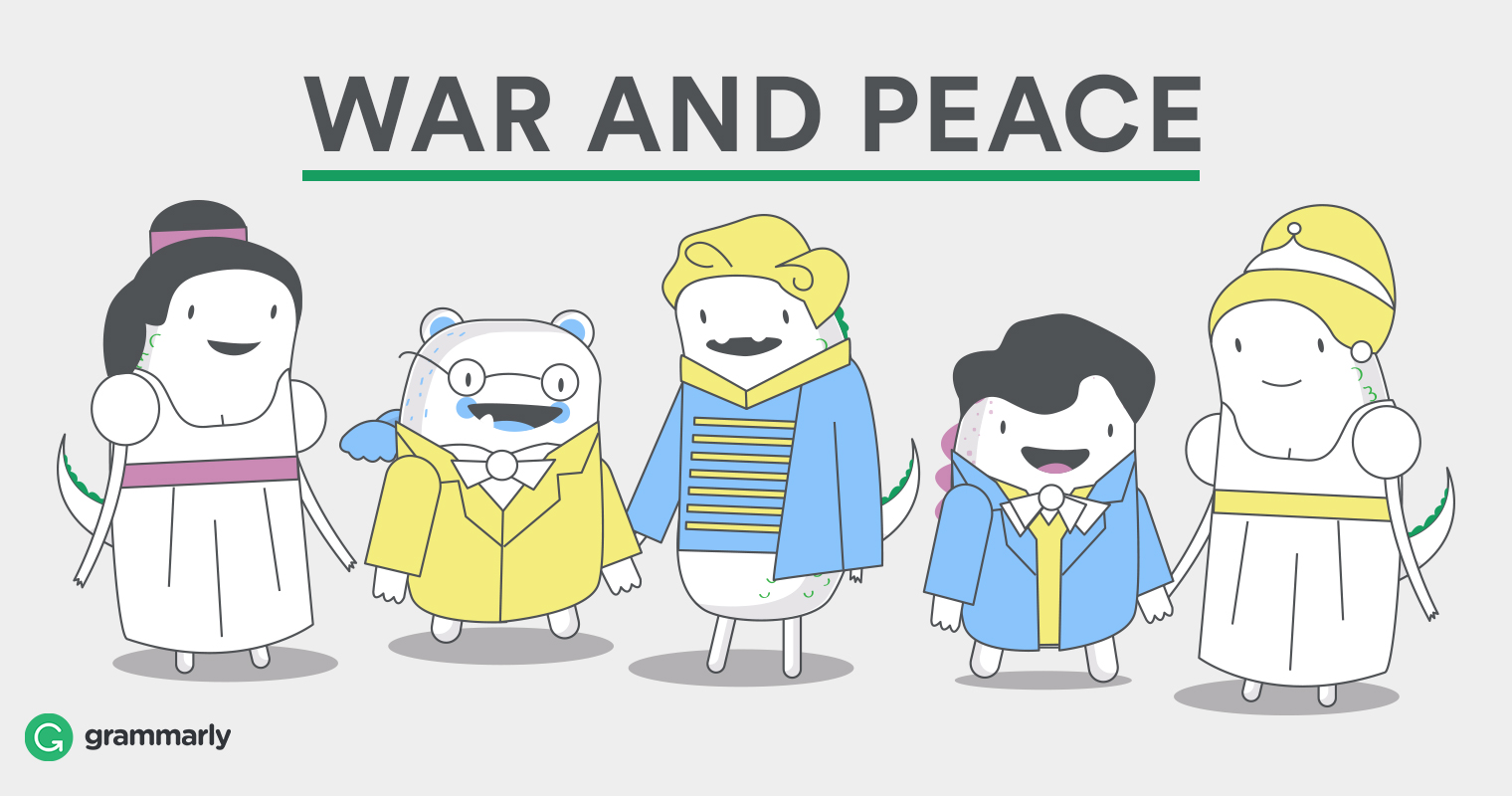 Protagonist Examples War and Peace Cartoon