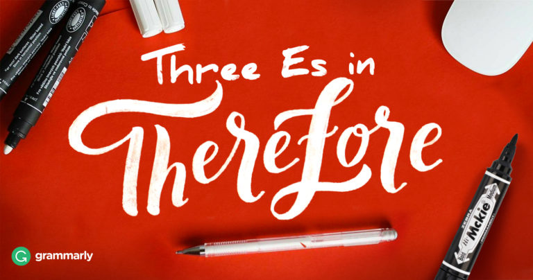 Therefore Vs Therefor Grammarly Blog