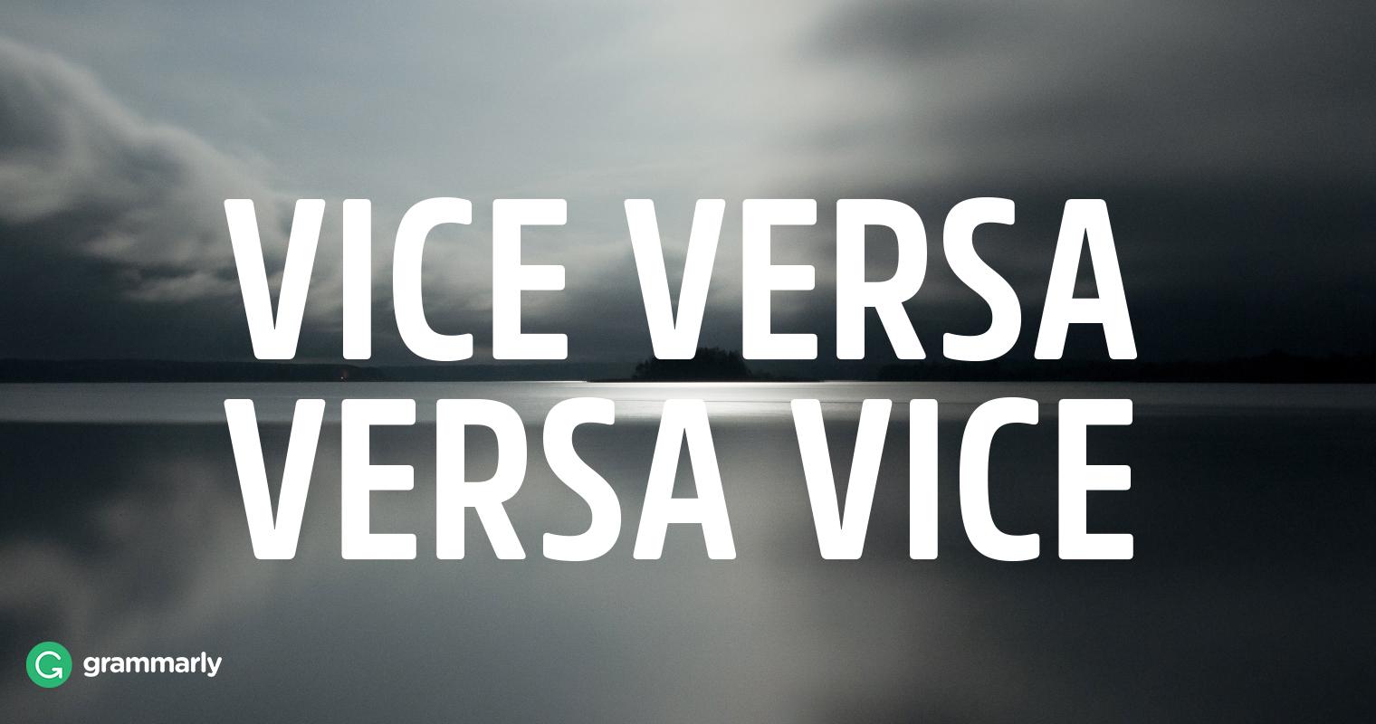 Vice Versa image
