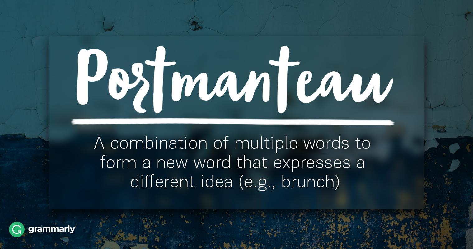 Literary Portmanteau Explanation