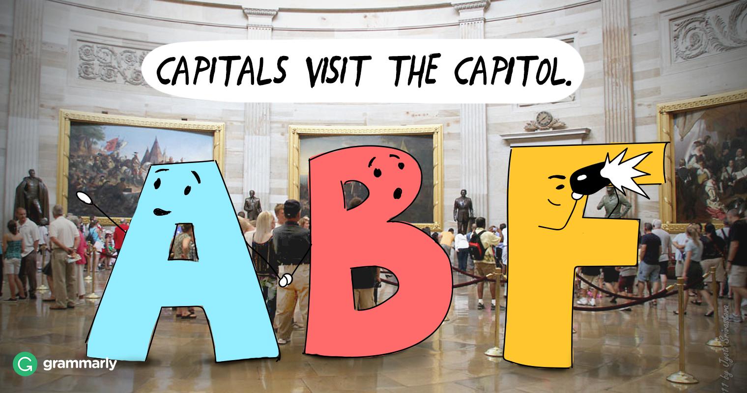Capital vs. Capitol image
