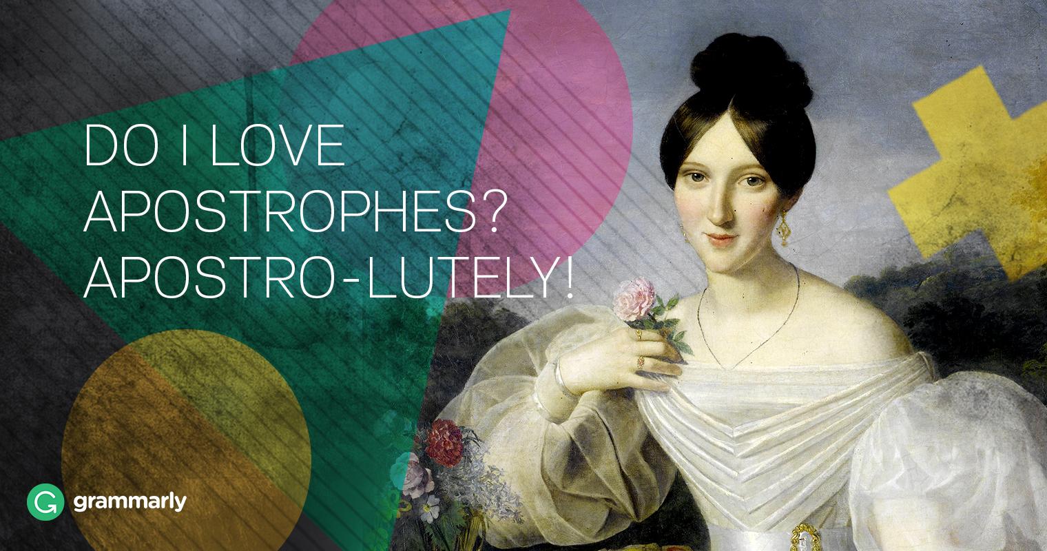 Apostrophes Love image