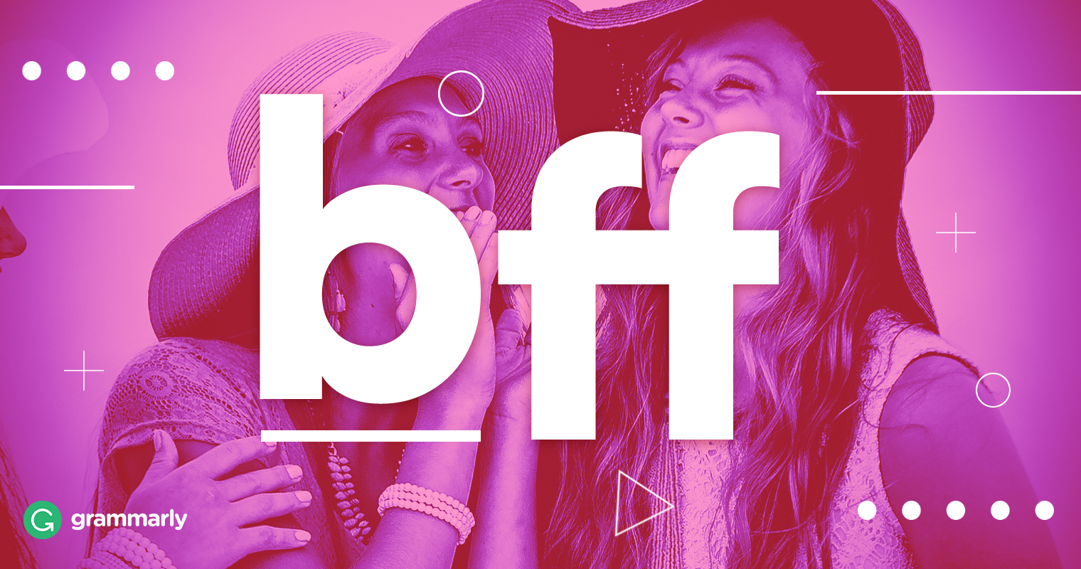 What Does Bff Mean? image