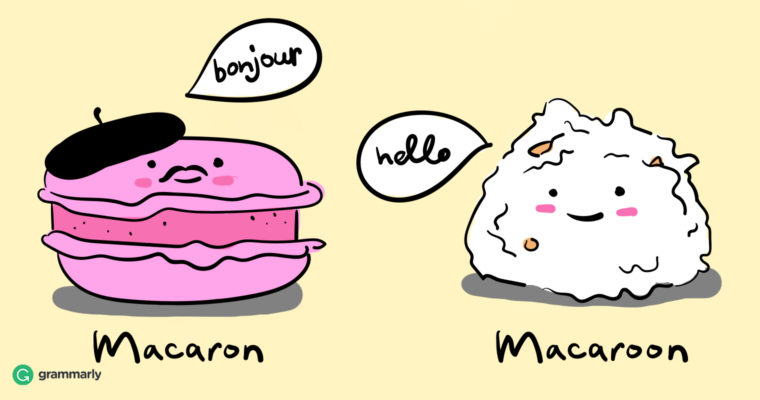 Macaron vs. Macaroon: A Discussion of Confusing Food Names